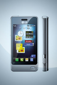 LG launches compact touch screen phone - GD510