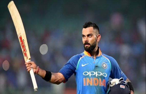 Playing in the 'V' the Secret to Kohli's Success this WC