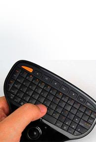 Multimedia keyboard remote by Lenovo