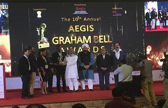Letstrack wins Prestigious Aegis Graham Bell Awards for Innovation in Internet of Things
