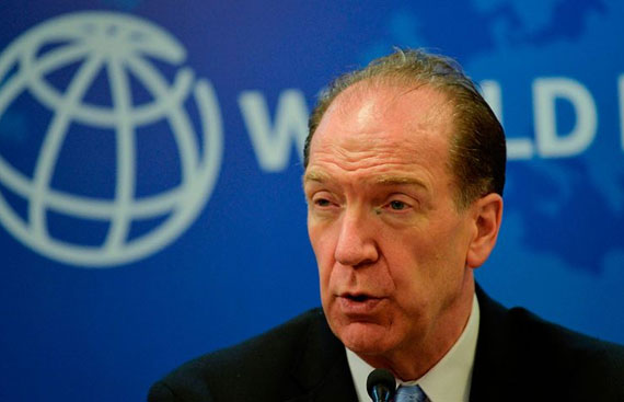 World Bank chief asks India to reform financial sector