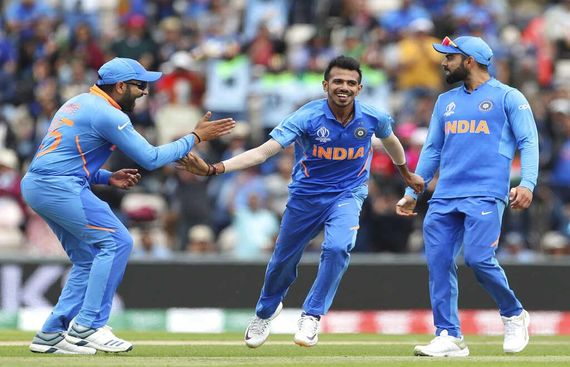 Chahal Registers Best Figures this WC, Walks the Talk