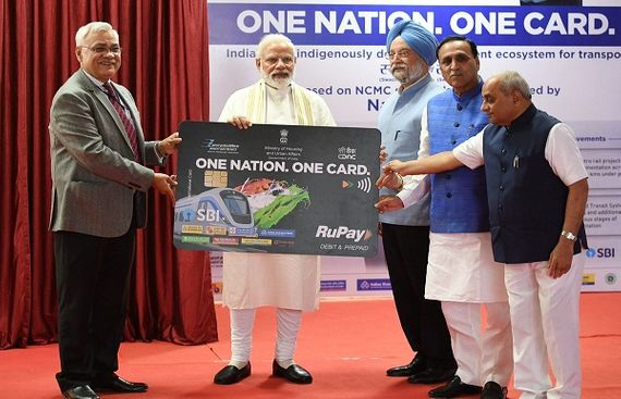 Modi launches 'One Nation, One Card'