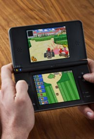 Nintendo handheld game system DSi XL to be launched in U.S.
