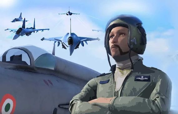 Surgical strike, Abhinandan in IAF's new mobile gaming app