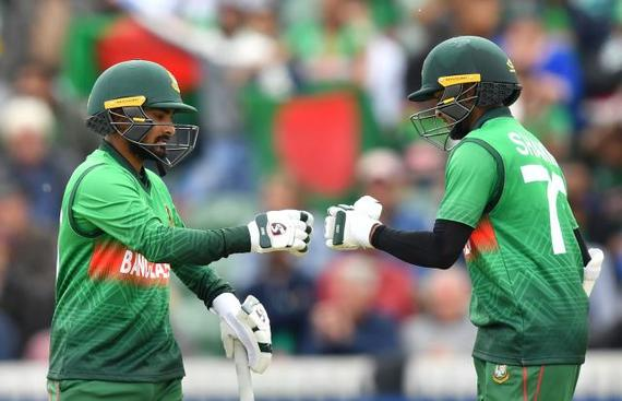 Shakib, Liton Star as Bangladesh Chase Down 321 against Windies