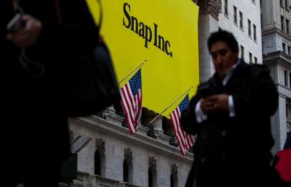 Snapchat's CFO resigns after 8 months of appointment