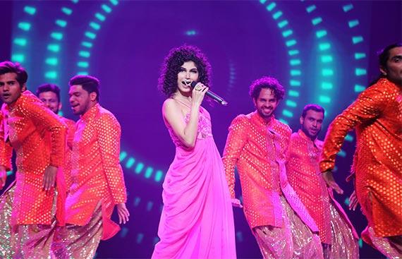 Mumbai Warriors Team of the Indian Music Pro League has a music bomb 'Purva Mantri'