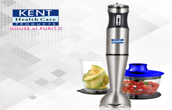 Make your Kitchen Smarter KENT RO Launches KENT Hand Blender