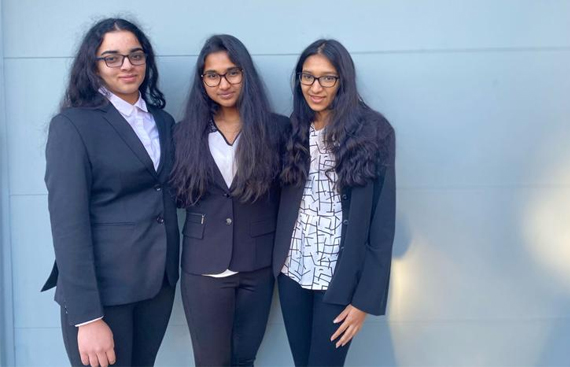 Three Indian American Teens from Illinois Successfully Start 'Project A Squared' to Raise Awareness of ADHD