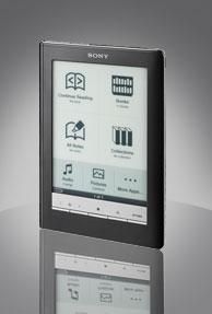 Amazon Kindle vs Sony Digital reader daily edition