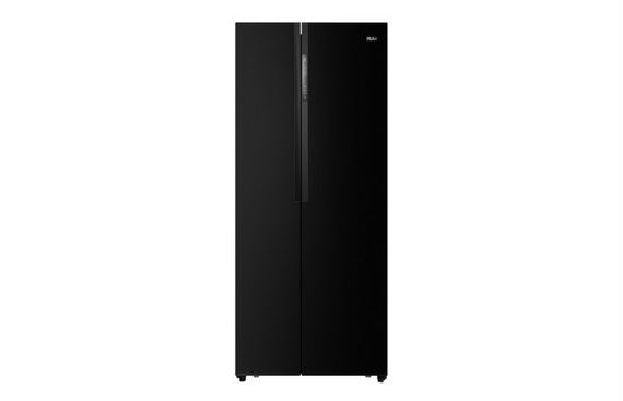 Haier Introduces the Slimmest Side By Side Refrigerator in Smooth Black Steel Finish