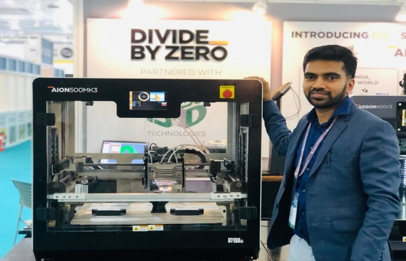 Divide By Zero Launches AION500 MK3 - World's Fastest 3D Printer