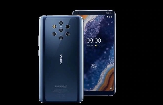 Nokia unveils world's first penta-camera smartphone