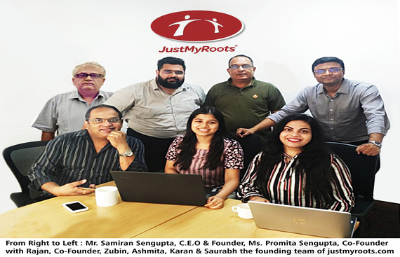 JustMyRoots.com Brings-In India's First Interstate Perishable Food Delivery