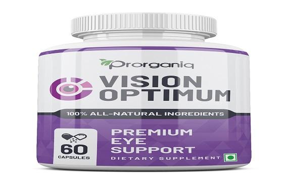 Prorganiq's Vision Optimum to Improve Your Eyesight Naturally