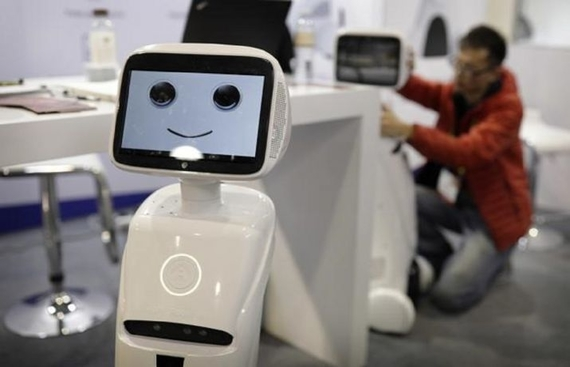Robots turn teachers in Bengaluru school
