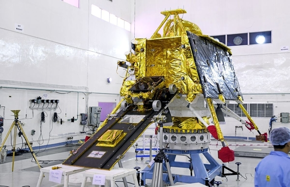 India's Moon Lander Vikram All Set to Land on the Moon