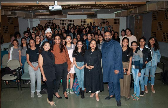 Global Expertise And Local Knowledge Inspired Next Generation Of Fashion Designers, As Whistling Woods International Hosted Fashion And Retail Masterclasses