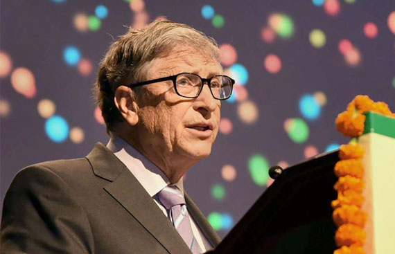 Bill Gates to attend Agriculture Statistics meet in Delhi