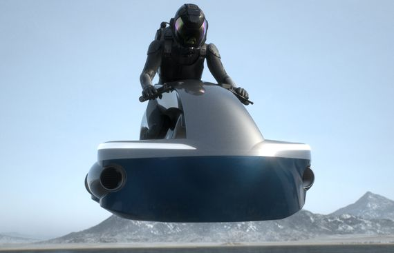 Japanese firm aims to sell flying motorbikes by 2022