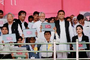 UP Government Launches Free Laptop Scheme