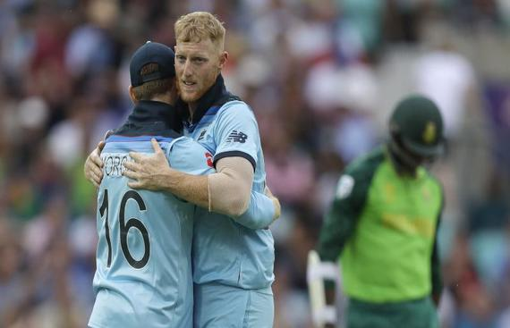 Stokes sets the tone for World Cup with one-handed stunner