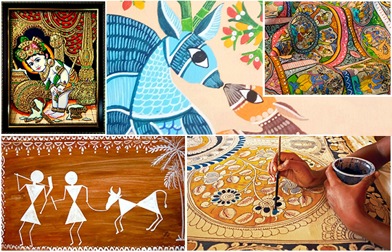 5 Ancient Art Forms that Add Color to Indian Culture
