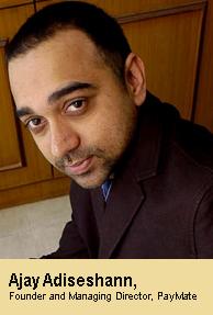 Ajay Adiseshan invests in Vserv