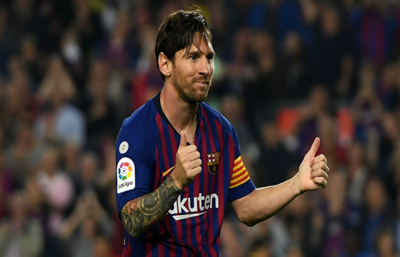 Messi leads Barca to 4-2 win over Sevilla in La Liga