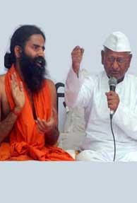 Anna Hazare Vs. Baba Ramdev