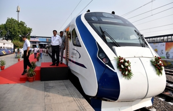 Vande Bharat Express Delayed at Allahabad due to AC fault