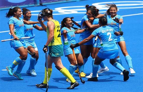 Indian women make historic entry into semifinals: Tokyo Olympics Hockey 2021
