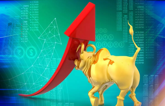 Sensex reaches 58,000 for first time in history