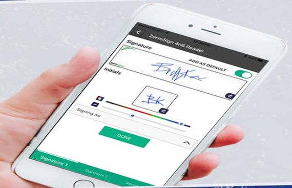 ZorroSign Upgrades its Mobile App