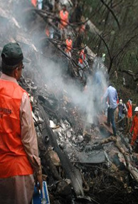 All on board killed in plane crash in Pakistan