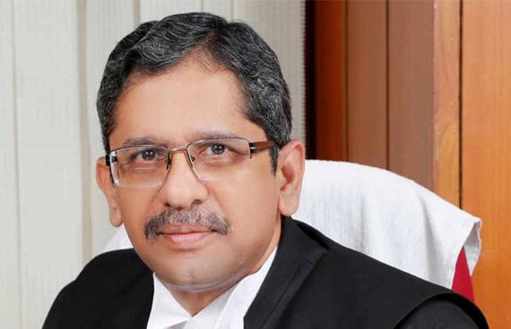 President Ram Nath Kovind Appoints Justice NV Ramana as Next CJI