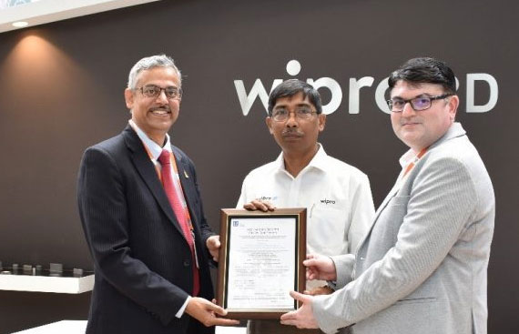Lloyds certifies Wipro 3D for Metal Additive Manufacturing