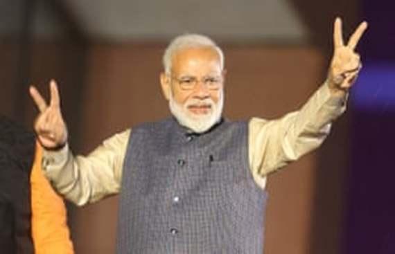 Modi emerged big winner on social media