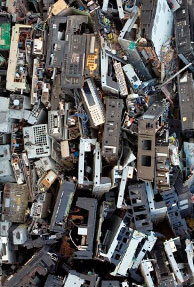 More e-waste from developing than developed nations