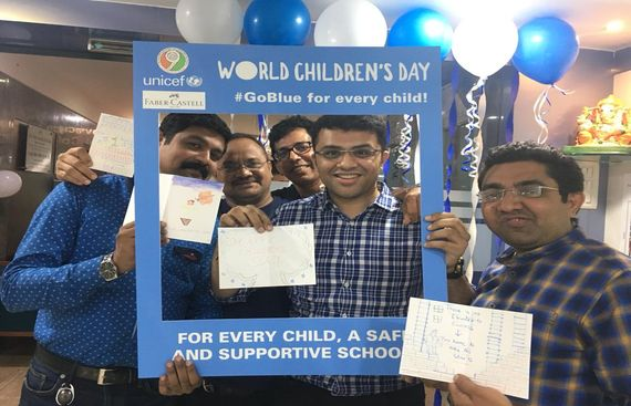 Faber-Castell India Partners with UNICEF to Celebrate International Child Rights Week