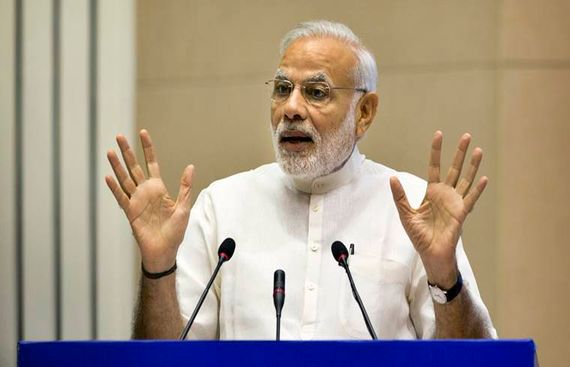 Surgical strikes laid foundation of New India: Modi