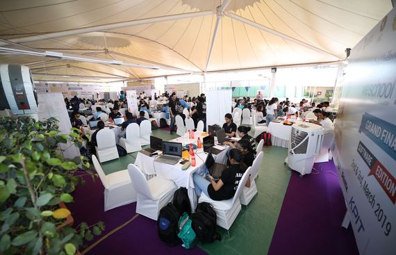 Smart India Hackathon 2019 Saw Over 180 Students on Day 1 at WeSchool campus, Mumbai