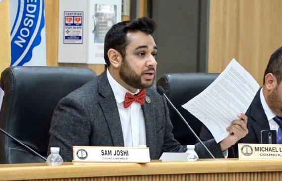 Sam Joshi's Program Set To Boost Business of Minorities
