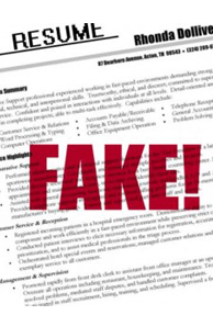 Fake resumes Hyderabad leads
