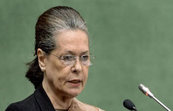 BJP Leaders Meet Sonia to Seek Cooperation in Parliament