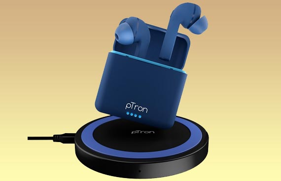 pTron Debuts its 1st fully Wireless TWS with FREE Qi charger