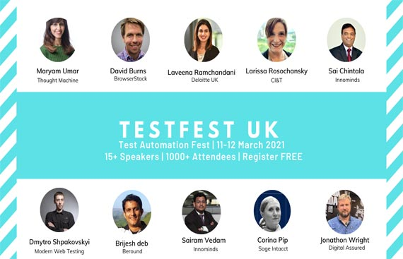 Clavent announces first round of speakers for TestFest UK - Global Test Automation Series