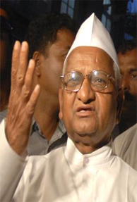 Lokpal: PIL filed in Supreme Court to restrain Hazare from going on fast