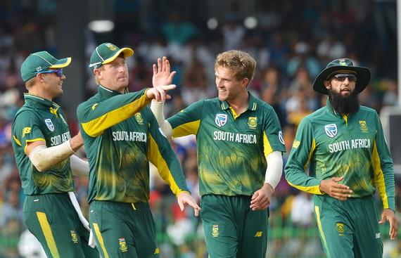 SA Aim to Keep Semis Hopes Alive against Kiwis